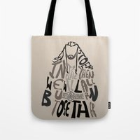 thorin Tote Bags featuring Thorin by pokegirl93