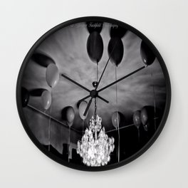 Balloon Gloom by Igh Kihl Media/Piffington Kushfield Photography Wall Clock