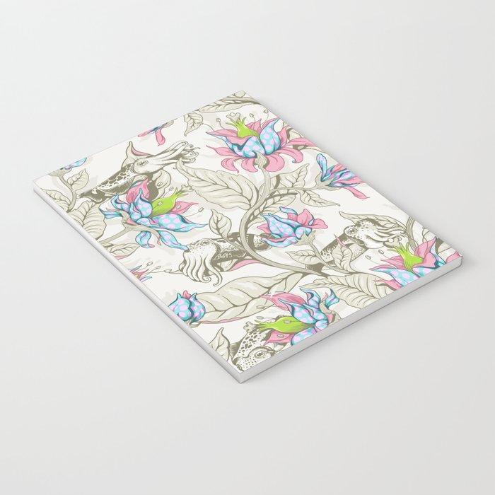 The Sea Garden - pastel Notebook