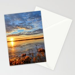 Winds On Big Marsh Stationery Cards