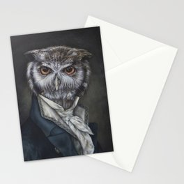 Professor Dapper Stationery Cards