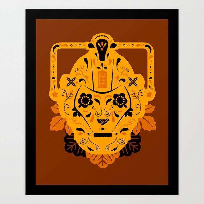 Sugar Cybermen Art Print