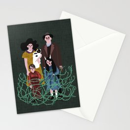 de tal palo, tal astilla Stationery Cards