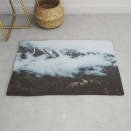 On a cloudy day - Landscape and Nature Photography Rug