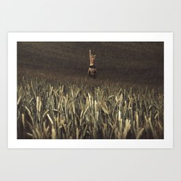 Right Direction Art Print