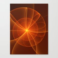 fractal Canvas Prints featuring Fractal by gabiw Art