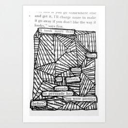 Filler Smiles Art Print