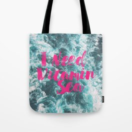 Vitamin Sea Tote Bag