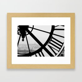 Musee d' Orsay Framed Art Print
