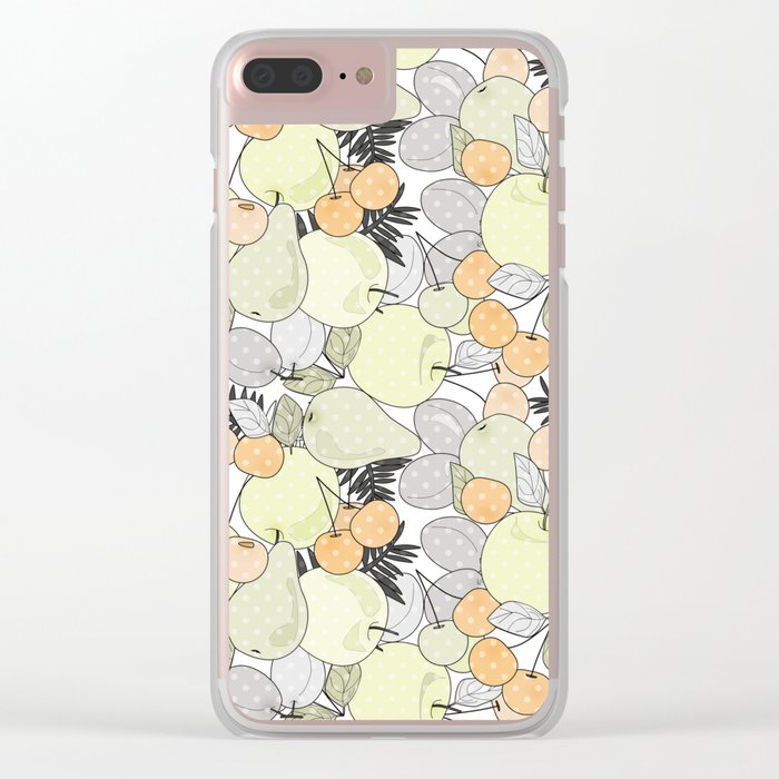 Fruit market . Retro . Clear iPhone Case