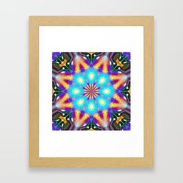Insectasoids and Friends on the Inter-dimensional Council Framed Art Print
