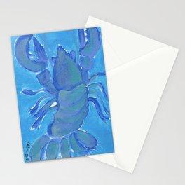 Lobster NY1B, 4 Stationery Cards
