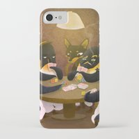 poker iPhone & iPod Cases featuring Poker by happymiaow
