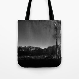 Eerie view in the Highlands Tote Bag