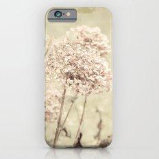 Antique Hydrangeas -- Dreamy Pastel Autumn Botanical iPhone 6s Slim Case
