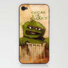 Oscar the Grouch iPhone & iPod Skin