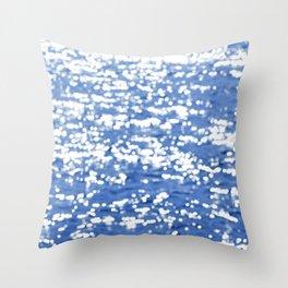 Diamonds (bokeh 4)  Throw Pillow