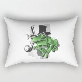 Elementary My Dear Frogson Rectangular Pillow