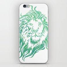 Green Lion iPhone & iPod Skin