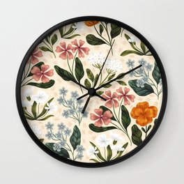 Wild Flowers ~ vol2. Wall Clock