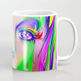 rainbow colorful girl Coffee Mug