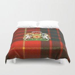 RED & GREEN CAMERON TARTAN ROYAL SCOTLAND Duvet Cover