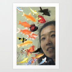 Fish's Art Print