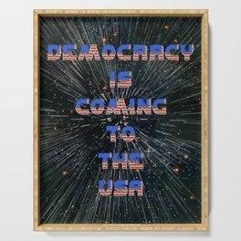Democracy is coming - A Hell Songbook Edition Serving Tray