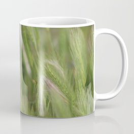 Closeup of Hayseed Heads - Wild Grasses of Utah Coffee Mug