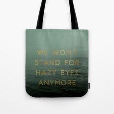 Hazy Eyes Tote Bag