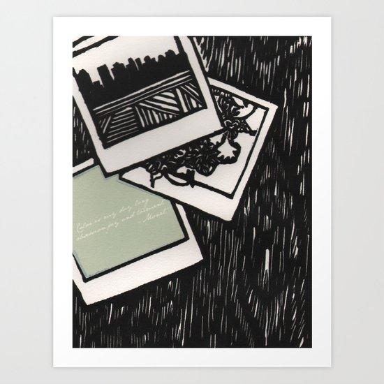 Polaroid Dreams Art Print