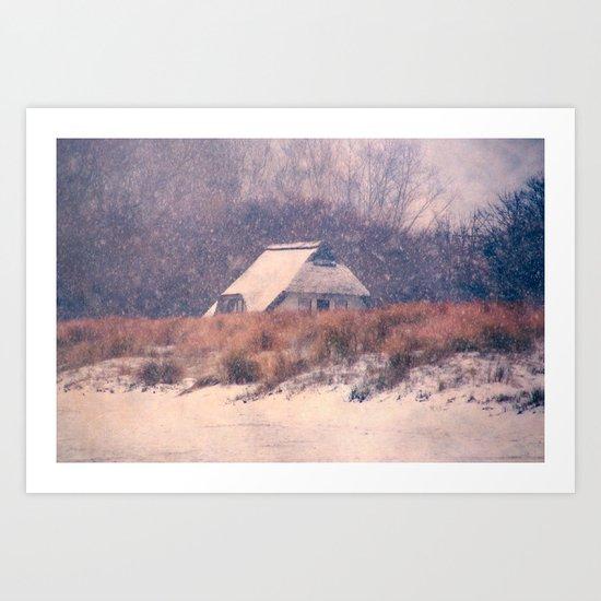 Snowhouse Art Print