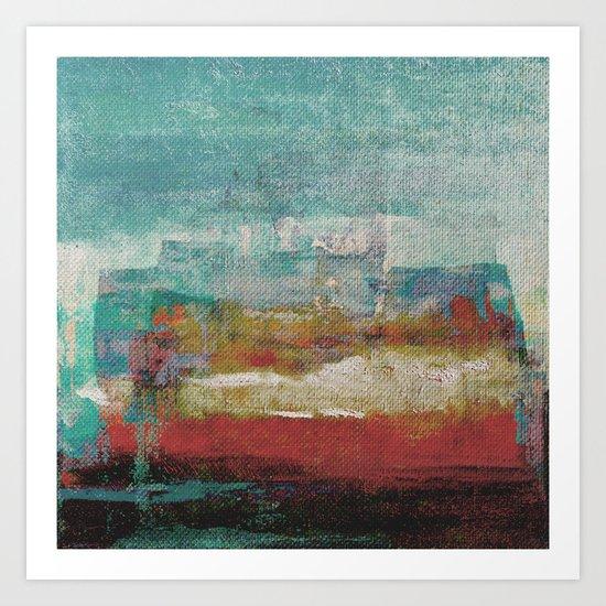 Lake Nyos Art Print