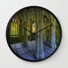 Valle Crucis Wall Clock