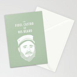 I like Fidel Castro Stationery Cards