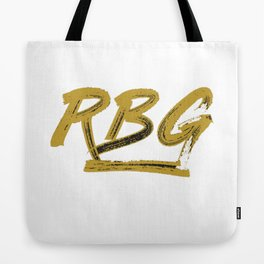 Rbg Shirt Tote Bag