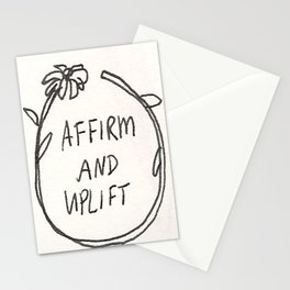 Affirm and Uplift Stationery Cards