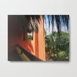 Tucked in the Tropics Metal Print