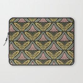 Butterfly Garden Pattern 5 Laptop Sleeve