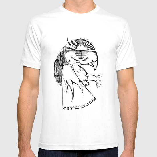 A kind of parrot T-shirt