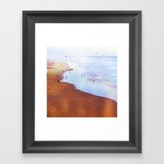 San Francisco Ocean Beach Framed Art Print