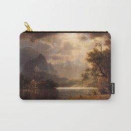 Estes Park Colorado 1869 By Albert Bierstadt | Reproduction Painting Carry-All Pouch