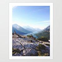 Waterton Bear Hump Art Print