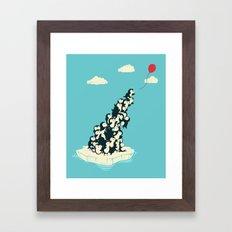 Balloon! Framed Art Print