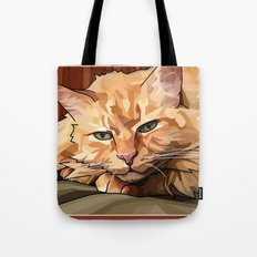 Louie Cat Tote Bag