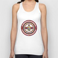totem Tank Tops featuring Totem by Robin Curtiss