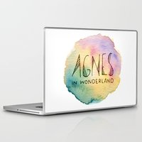 agnes cecile Laptop & iPad Skins featuring Agnes in Wonderland by Agnes in Wonderland