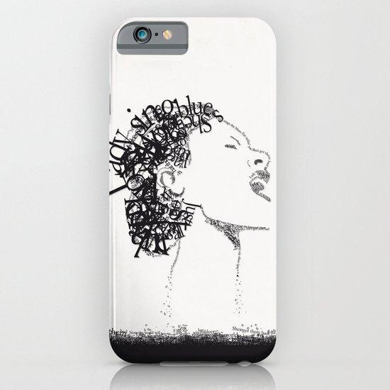 Jazz Typography iPhone & iPod Case