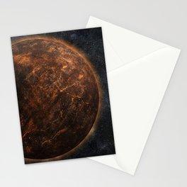 Rust Belt Moon Stationery Cards