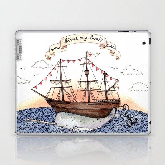 Float My Boat Laptop & iPad Skin